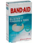 Band-Aid Advanced Healing Bandages Fingers and Toes 8ct