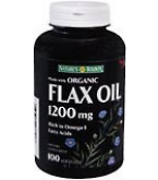 Natures Bounty Flax Oil 1200mg Softgels - 100