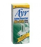 Ayr Saline Nasal Gel No-Drip Sinus Spray .75 oz