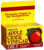Natures Bounty Apple Cider Vinegar Diet Tablets 90ct