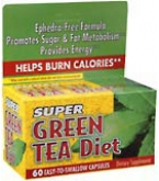 Super Green Tea Diet Capsules 60ct