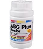 Natures Bounty ABC Plus Tablets Senior 100ct
