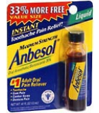 Anbesol Liquid Maximum Strength 0.41 oz****OTC DISCONTINUED 3/4/14