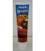 Oral-B Stages Toothpaste Cars Fruit Burst 4.2 oz