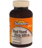 Sundown Red Yeast Rice 600 mg Capsules 60ct