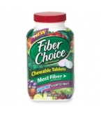 Fiber Choice Chewable Tablets Sugar Free Assorted Fruit 90ct****MFG DISCONTINUED 1/22/14