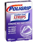 Poli Grip Super Comfort Seal Strips - 40