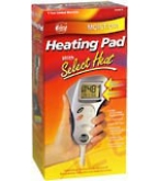 Cara Heating Pad Moist/Dry With Select Heat Model # 72