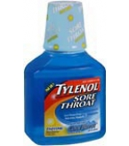 Tylenol Sore Throat Liquid Daytime Cool Burst 8 oz