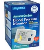 Life Source Advanced Blood Pressure Monitor One Step Lg Cuff UA-767PVL