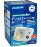Life Source Advanced Blood Pressure Monitor One Step Lg Cuff UA-767PVL