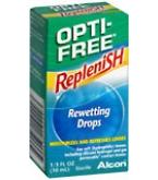 Opti-Free Replenish Rewetting Drops 10ml