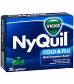 Nyquil Liquicaps 20 ct