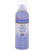 Neutrogena Fresh Cooling Body Mist Sunblock SPF 45 5oz