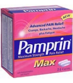 Pamprin Max Caplet Maximum Strength 24 ct