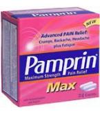 Pamprin Max Caplet Maximum Strength 24 ct