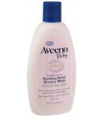 Aveeno Baby Soothing Relief Creamy Wash 8 oz***otc Discontinued  2/24/14