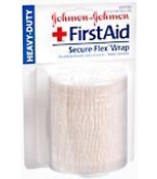 Johnson & Johnson First Aid Secure-Flex Wrap 3 inches X 2.5 Yard