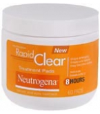 Neutrogena Rapid Clear Treatment Pads 60ct