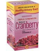 Nature's Bounty Cranberry Softgels Triple Strength - 60