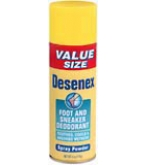 Desenex Foot and Sneaker Deodorant Spray Powder - 4oz