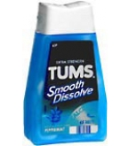 Tums Smooth Dissolve Tablets Peppermint - 60