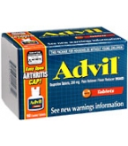 Advil Tablet Easy Open Arthritis Cap 150ct
