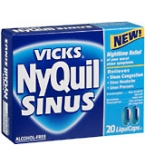 Nyquil Liquicaps Sinus Caplets 20ct
