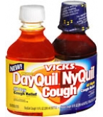 DayQuil and NyQuil Cough Liquid  20 OZ
