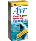 Ayr Allergy & Sinus Hypertonic Saline Nasal Mist 50 mL****OTC DISCONTINUED 3/5/14