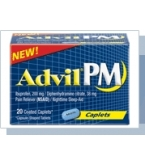 Advil PM Caplet 20ct****OTC DISCONTINUED 3/3/14