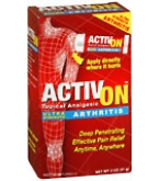 ActivOn Ultra Strength Arthritis Topical Analgesic  2 OZ****OTC DISCONTINUED 3/3/14