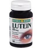 Natures Bounty Lutein 20 mg Softgels 30ct