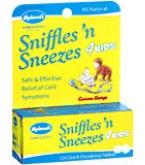 Hylands Sniffles n Sneezes 4 Kids Quick Dissolving Tablets  125ct