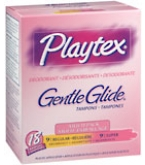 Playtex Gentle Glide Tampons Deodorant Multi-Pack - 18