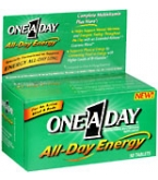One-A-Day All Day Energy Tablets 50ct