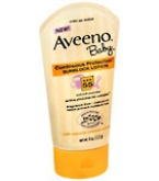 Aveeno Baby Continuous Protection Sunblock Lotion SPF 55 4oz****OTC DISCONTINUED 3/5/14