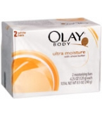 Olay Ultra Moisture Moisturizing Bars 2-Pack White  8.5 oz