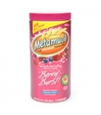 Metamucil Berry Burst Fiber Laxative/Supplement Sugar Free 15 oz