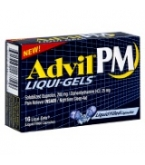 Advil PM Liqui-Gels Liquid-Filled Capsules - 16****OTC DISCONTINUED 3/3/14