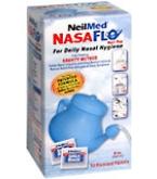 NeilMed NASAFLO Daily Nasal Hygiene NetiPot + 50 ea