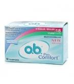 O.B. Pro Comfort Non-Applicator Multi-Pack 18 each