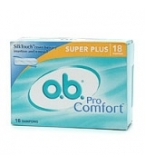 O.B. Pro Comfort Non-Applicator Super Plus 18 each