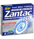 Zantac 150 Tablets Cool Mint  8ct