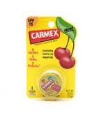 Carmex Cherry Flavored Lip Balm SPF 15 Jar .25 oz 12/Box