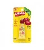 Carmex Cherry Flavored Lip Balm Tube .35 oz 12/Box
