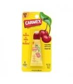 Carmex Cherry Flavored Lip Balm Tube .35 oz 12/Box