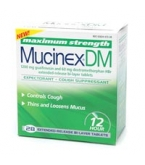 Mucinex DM Expectorant Cough Suppres Ext Release 1200 mg Tablets 28ct