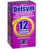 Delsym 12 Hour Cough Relief Grape  3 oz