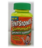 Flintstones Gummies Plus Immunity Support with Extra Vitamin C 60ct